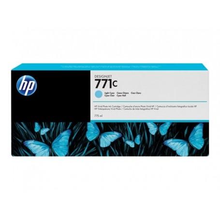 HP 771C - Cartouche d'impression cyan clair 775ml (B6Y12A)