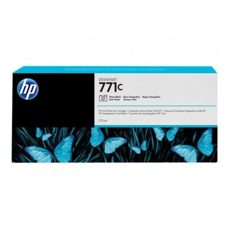 HP 771C - Cartouche d'impression noir photo 775ml (B6Y13A)