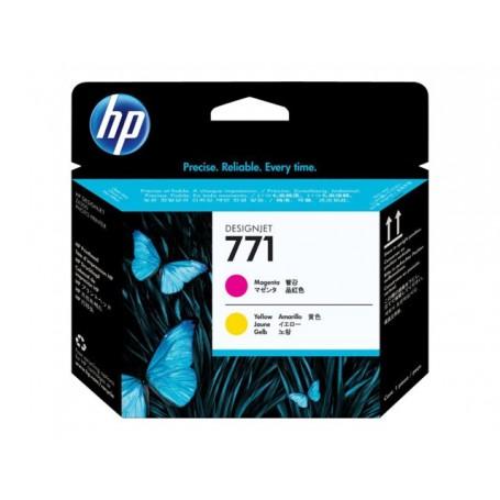HP 771 - Tête d'impression magenta et jaune (CE018A)