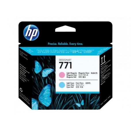 HP 771 - Tête d'impression magenta clair et cyan clair (CE019A)