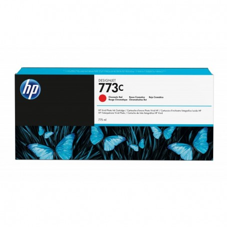 HP 773C - Cartouche d'impression rouge chromatique 775ml (C1Q38A)