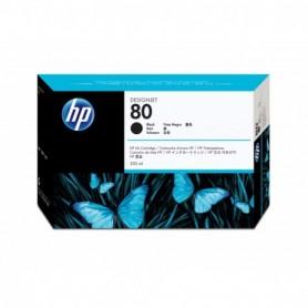 HP 80 - Cartouche d'impression noir 350ml (C4871A)