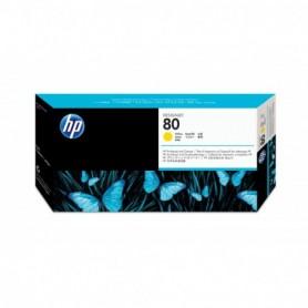 HP 80 - Tête d'impression jaune (C4823A)