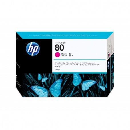 HP 80 - Cartouche d'impression magenta 350ml (C4847A)