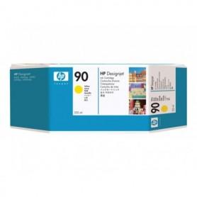 HP 90 - Cartouche d'impression jaune 225ml (C5064A)