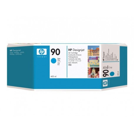 HP 90 - Cartouche d'impression cyan 400ml (C5061A)