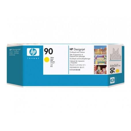 HP 90 - Tête d'impression jaune (C5057A)