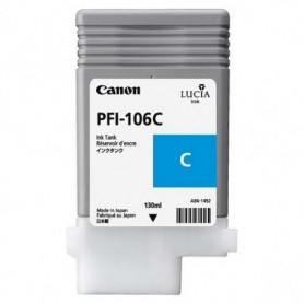 Canon PFI-106 C - Cartouche d'impression cyan 130ml
