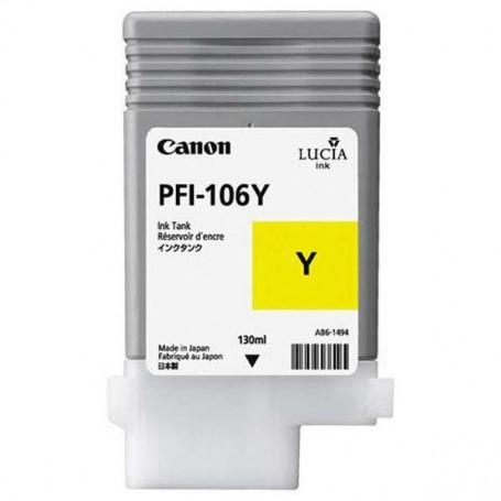 Canon PFI-106 Y - Cartouche d'impression jaune 130ml