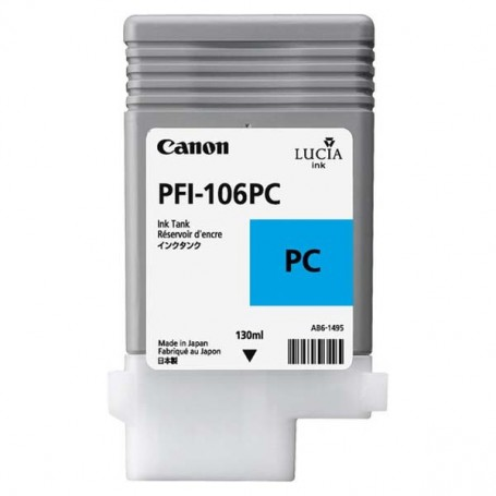 Canon PFI-106 PC - Cartouche d'impression cyan photo 130ml