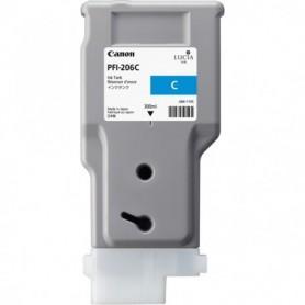 Canon PFI-206 C - Cartouche d'impression cyan 300ml