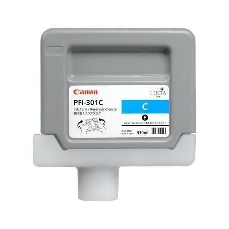 Canon PFI-301 C - Cartouche d'impression cyan 330ml