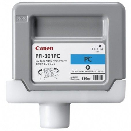 Canon PFI-301 PC - Cartouche d'impression cyan photo 330ml
