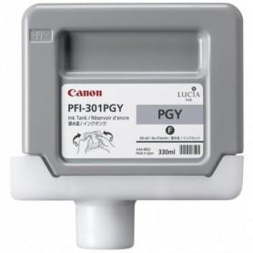 Canon PFI-301 PGY - Cartouche d'impression gris photo chiné 330ml