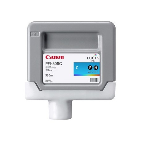Canon PFI-306 C - Cartouche d'impression cyan 330ml
