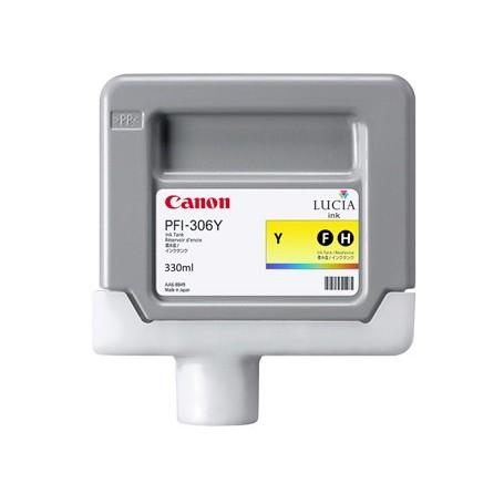 Canon PFI-306 Y - Cartouche d'impression jaune 330ml
