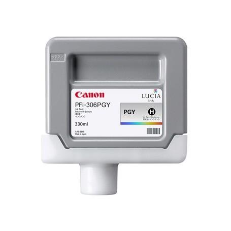 Canon PFI-306 PGY - Cartouche d'impression gris photo 330ml