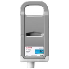Canon PFI-706 C - Cartouche d'impression cyan 700ml