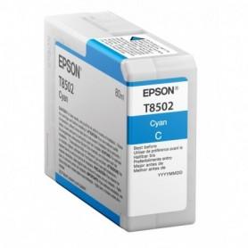 Epson T8502 - Réservoir cyan 80ml