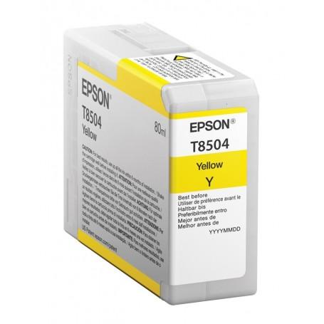 Epson T8504 - Réservoir jaune 80ml