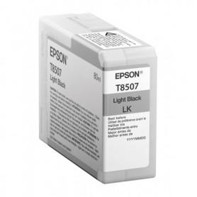 Epson T8507 - Réservoir noir clair 80ml