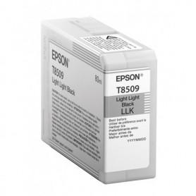 Epson T8509 - Réservoir gris clair 80ml