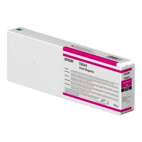 Epson T8043 - Réservoir magenta 700ml