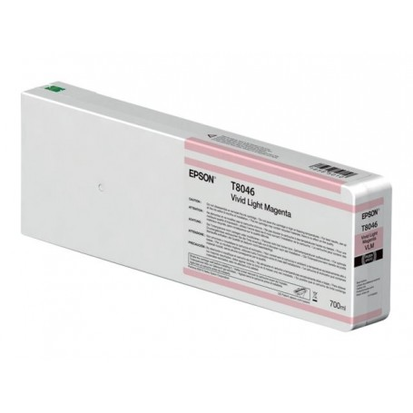 Epson T8046 - Réservoir magenta clair 700ml