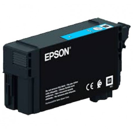 Epson T40D2 - Réservoir UltraChrome XD2 cyan 50ml