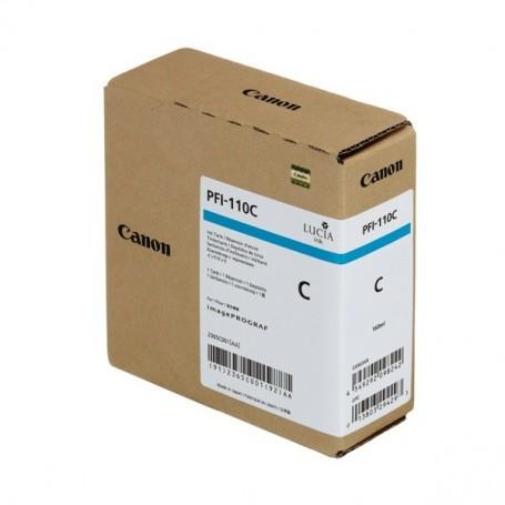Canon PFI-110 C - Cartouche d'impression cyan 160ml