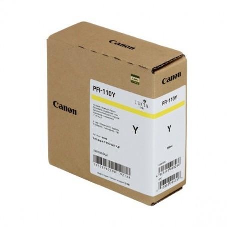 Canon PFI-110 Y - Cartouche d'impression jaune 160ml