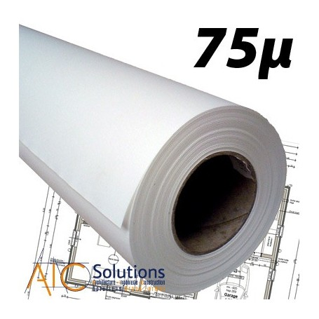 Film polyester PPC 75µ 0,841 (A0) x 100m