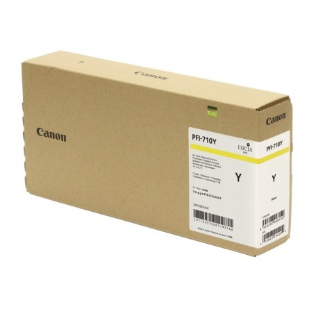 Canon PFI-710 Y - Cartouche d'impression jaune 700ml