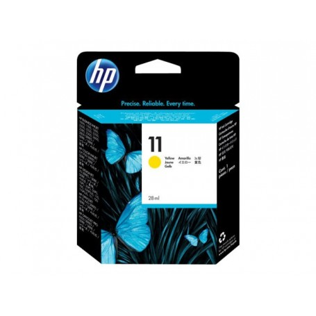 HP 11 - Cartouche d'impression jaune 28ml (C4838A)