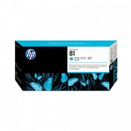 HP 81 - Tête d'impression cyan clair (C4954A)