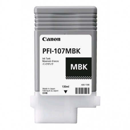 Canon PFI-107 MBK - Cartouche d'impression noir mat 130ml