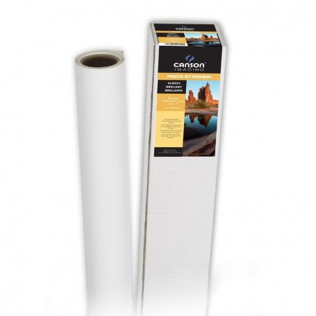 """Canson Imaging - Papier PhotoJet Premium Satin 190Gr/m² 1,118 (44"""") x 30m"""