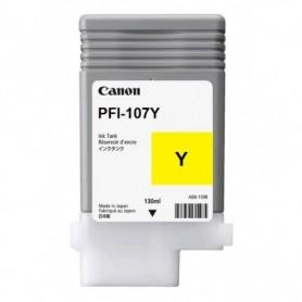 Canon PFI-107 Y - Cartouche d'impression jaune 130ml