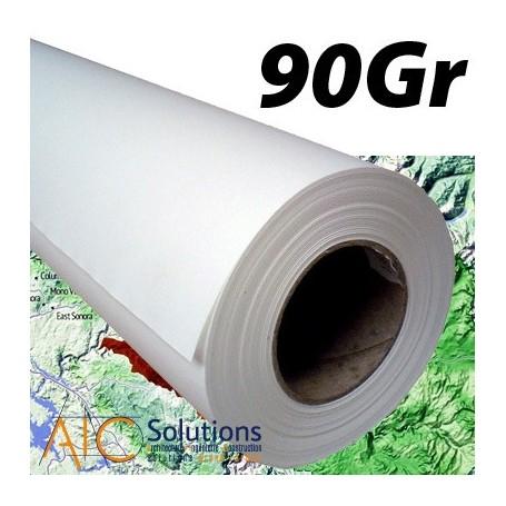 """ColorPrint HQ papier couché 90gr/m² 0,610 (24"""") x 45m"""