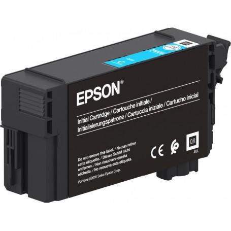 Epson T40C2 - Réservoir UltraChrome XD2 cyan 26ml