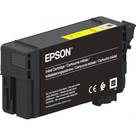 Epson T40C4 - Réservoir UltraChrome XD2 jaune 26ml