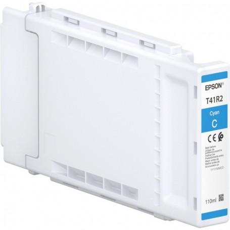 Epson T41R2 - Réservoir UltraChrome XD2 cyan 110ml