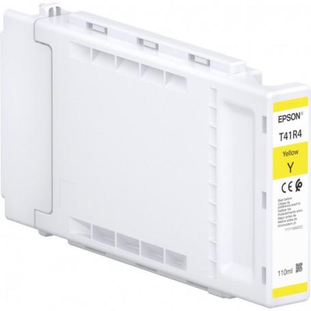 Epson T41R4 - Réservoir UltraChrome XD2 jaune 110ml