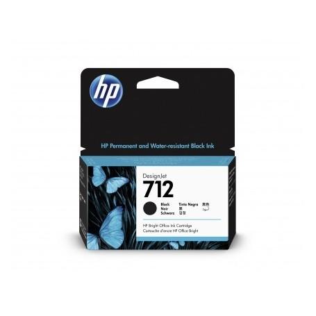 HP 712 - Cartouche d'impression noir 38ml (3ED70A)