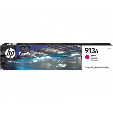 HP 913A - F6T78AE - cartouche d'impression PageWide magenta (3000 pages)