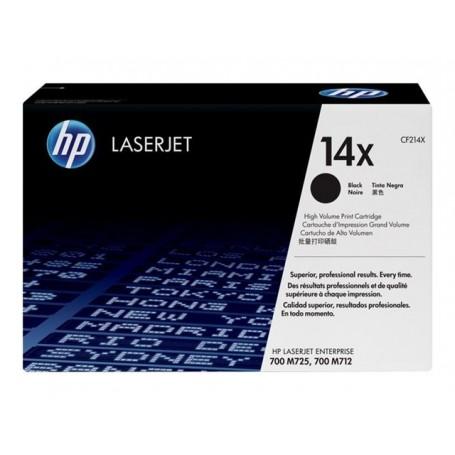 HP 14X - CF214X - cartouche de toner noir (Jusqu'à 17500 pages)