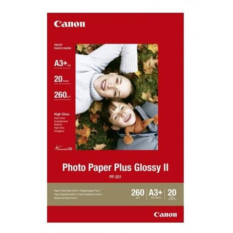Canon PP-201 - Papier photo brillant 260g/m² - A3+ - 20 feuilles