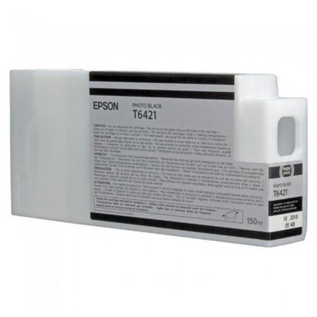 Epson T6421 - Réservoir photo noire 150ml