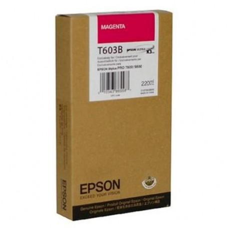 Epson T603B - Réservoir magenta 220ml