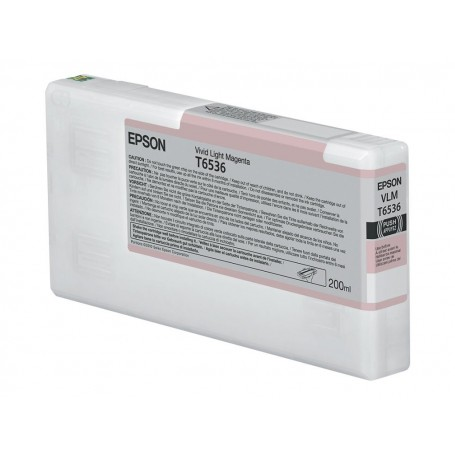 Epson T6536 - Réservoir magenta clair 200ml